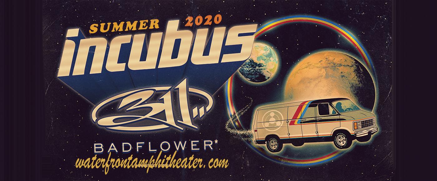 Incubus, 311 & Badflower at BB&T Pavilion