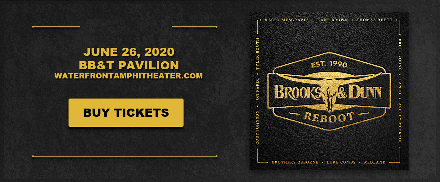 Brooks and Dunn [POSTPONED] at BB&T Pavilion