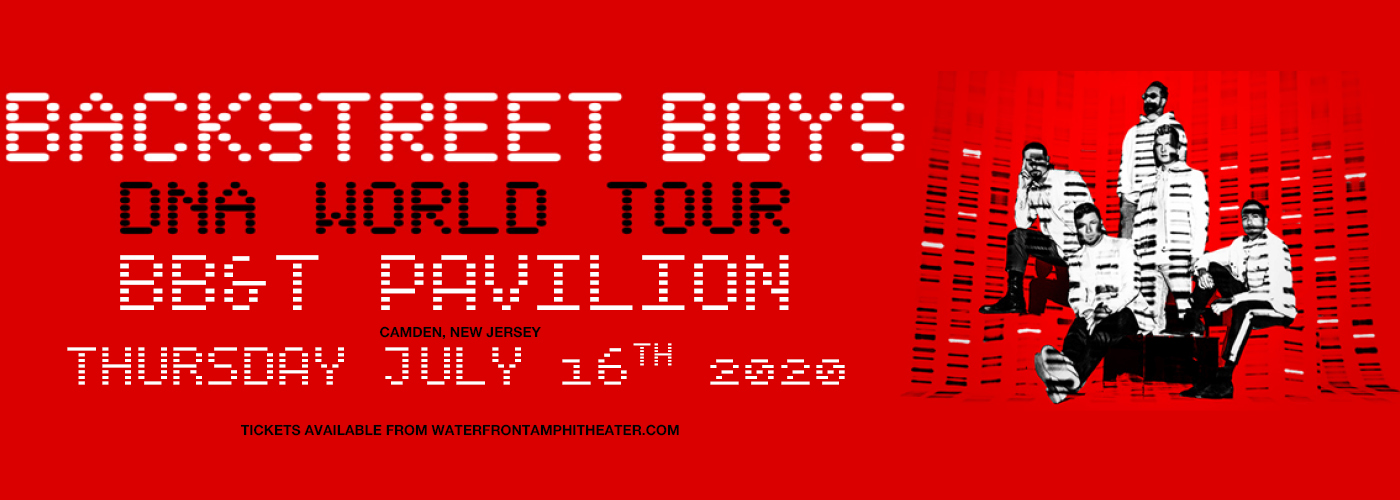 Backstreet Boys at BB&T Pavilion