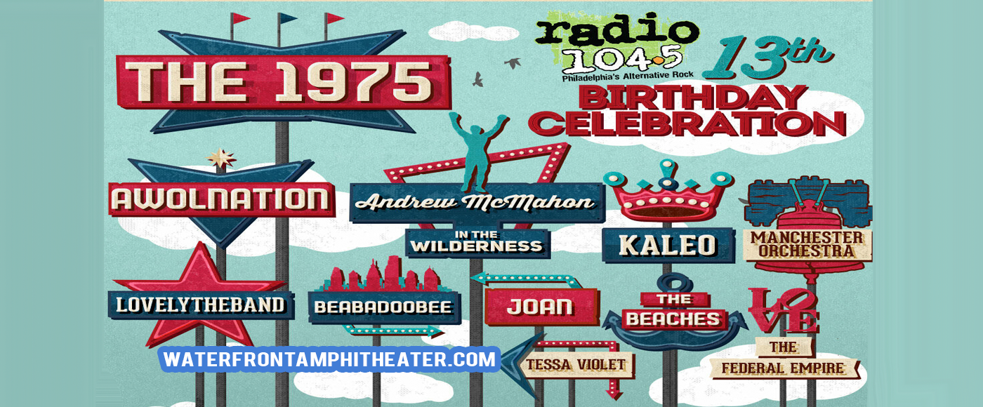 Radio 104.5 Birthday Show [CANCELLED] at BB&T Pavilion