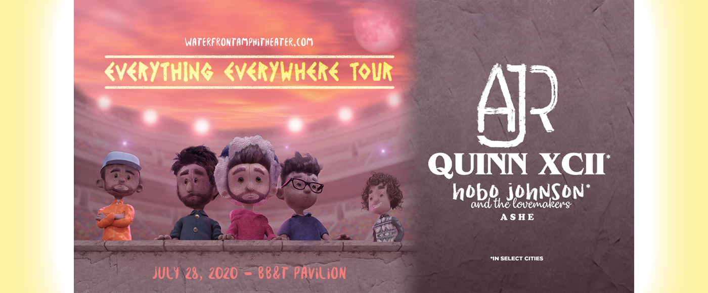 AJR, Quinn XCII & Hobo Johnson and The Lovemakers [CANCELLED] at BB&T Pavilion