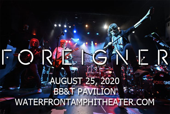 Foreigner, Kansas & Europe [CANCELLED] at BB&T Pavilion