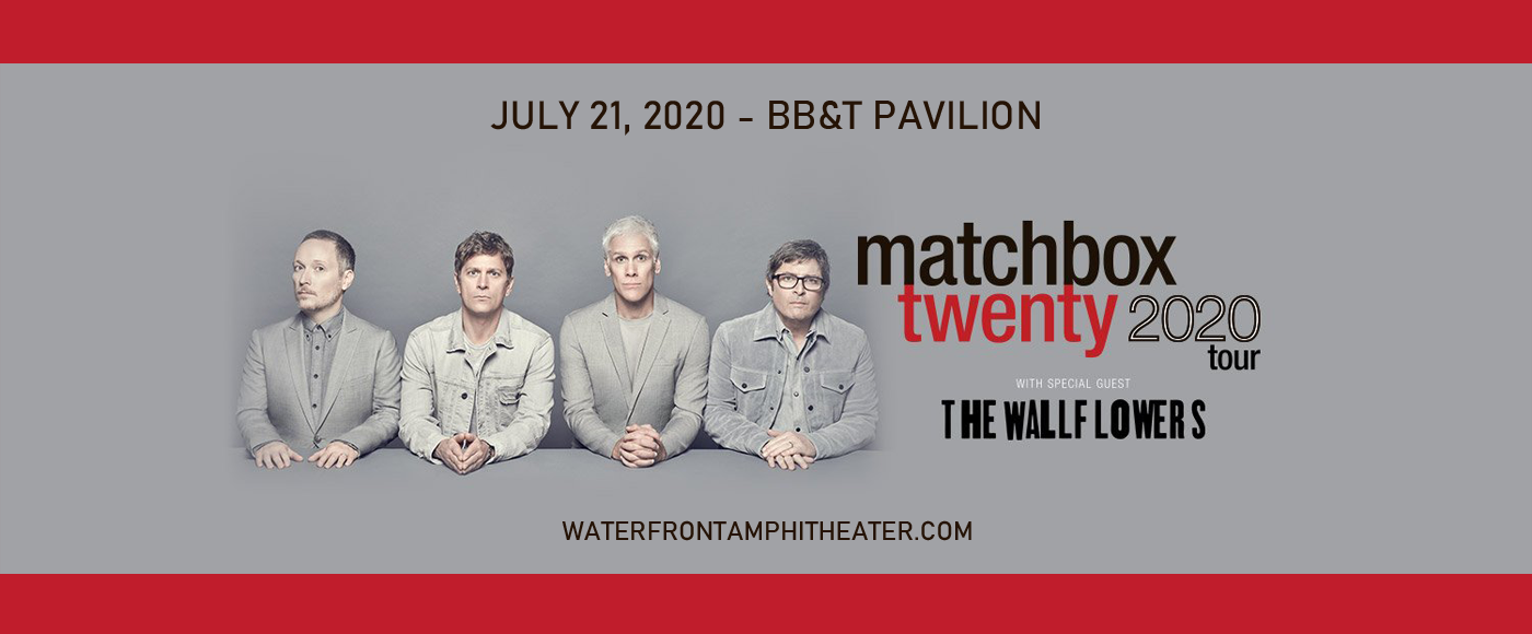 Matchbox Twenty & The Wallflowers [POSTPONED] at BB&T Pavilion
