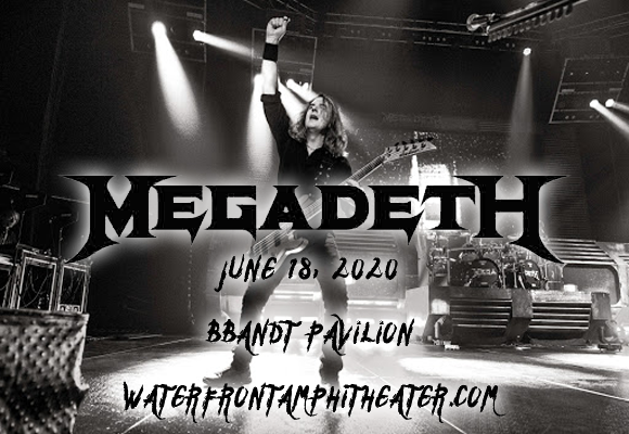 Megadeth & Lamb of God [POSTPONED] at BB&T Pavilion