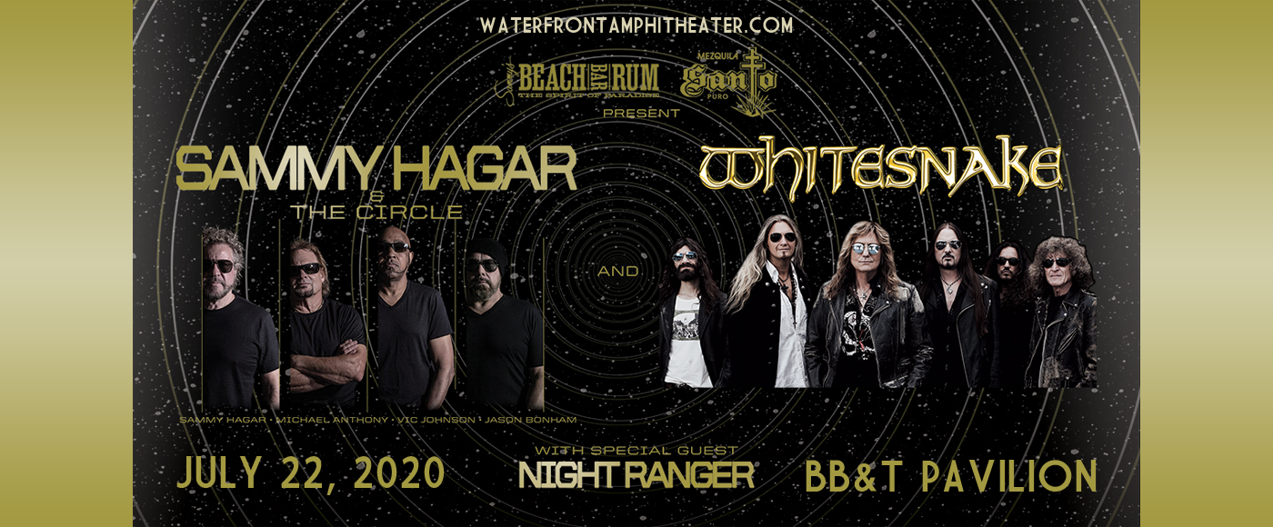 Sammy Hagar and the Circle & Whitesnake [CANCELLED] at BB&T Pavilion