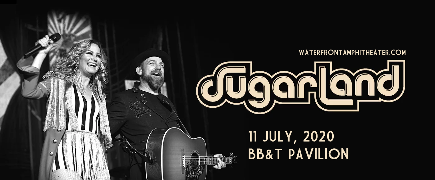 Sugarland [CANCELLED] at BB&T Pavilion
