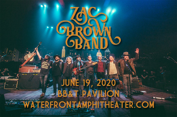 Zac Brown Band [CANCELLED] at BB&T Pavilion