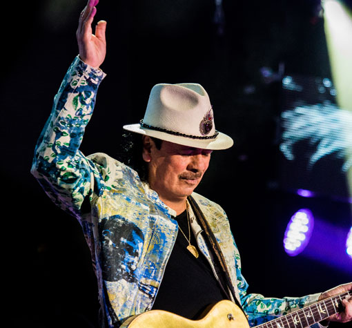 Santana & Earth, Wind and Fire at BB&T Pavilion