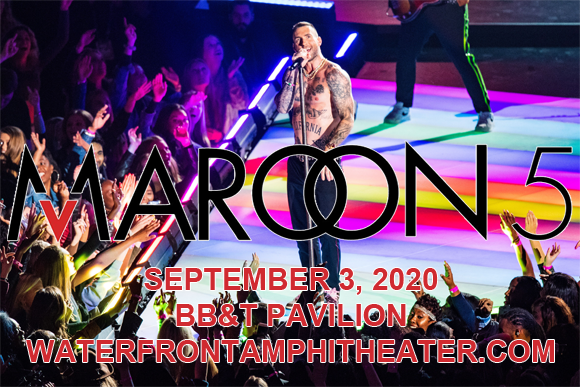 Maroon 5 & Meghan Trainor at BB&T Pavilion