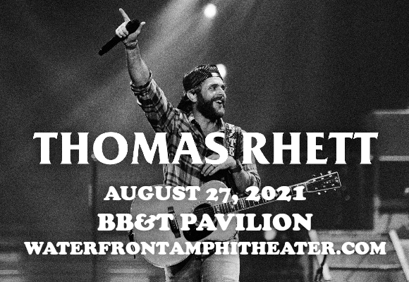 Thomas Rhett & Cole Swindell at BB&T Pavilion