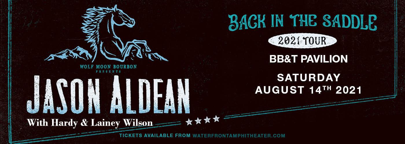 Jason Aldean: Back In The Saddle Tour at BB&T Pavilion