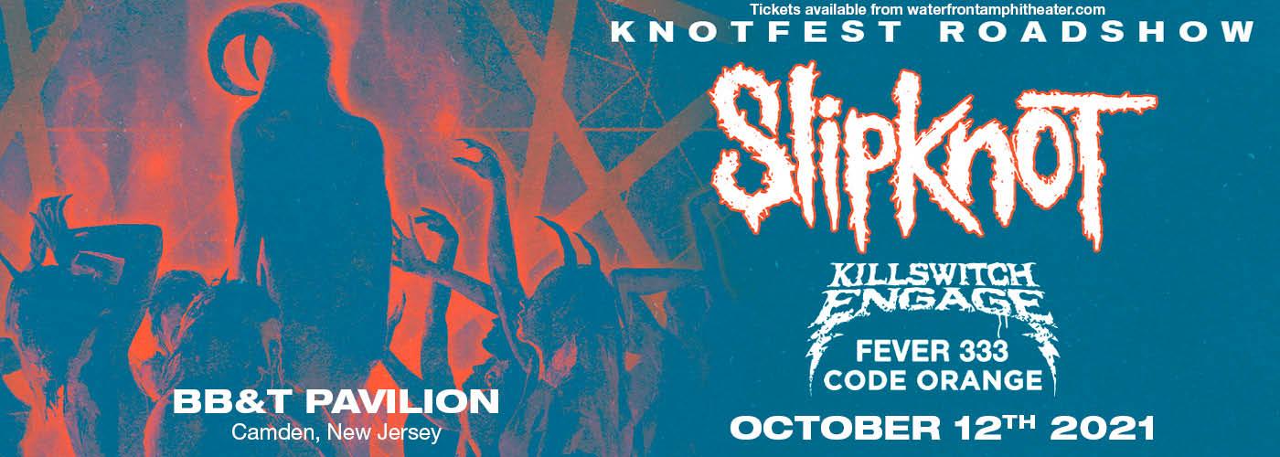 Knotfest Roadshow: Slipknot, Killswitch Engage, Fever333 & Code Orange at BB&T Pavilion