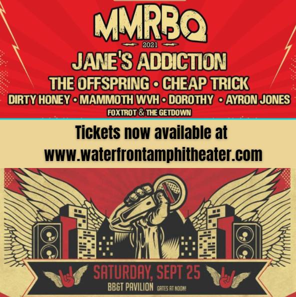 MMR*B*Q: Jane's Addiction, The Offspring, Cheap Trick & Dirty Honey at BB&T Pavilion