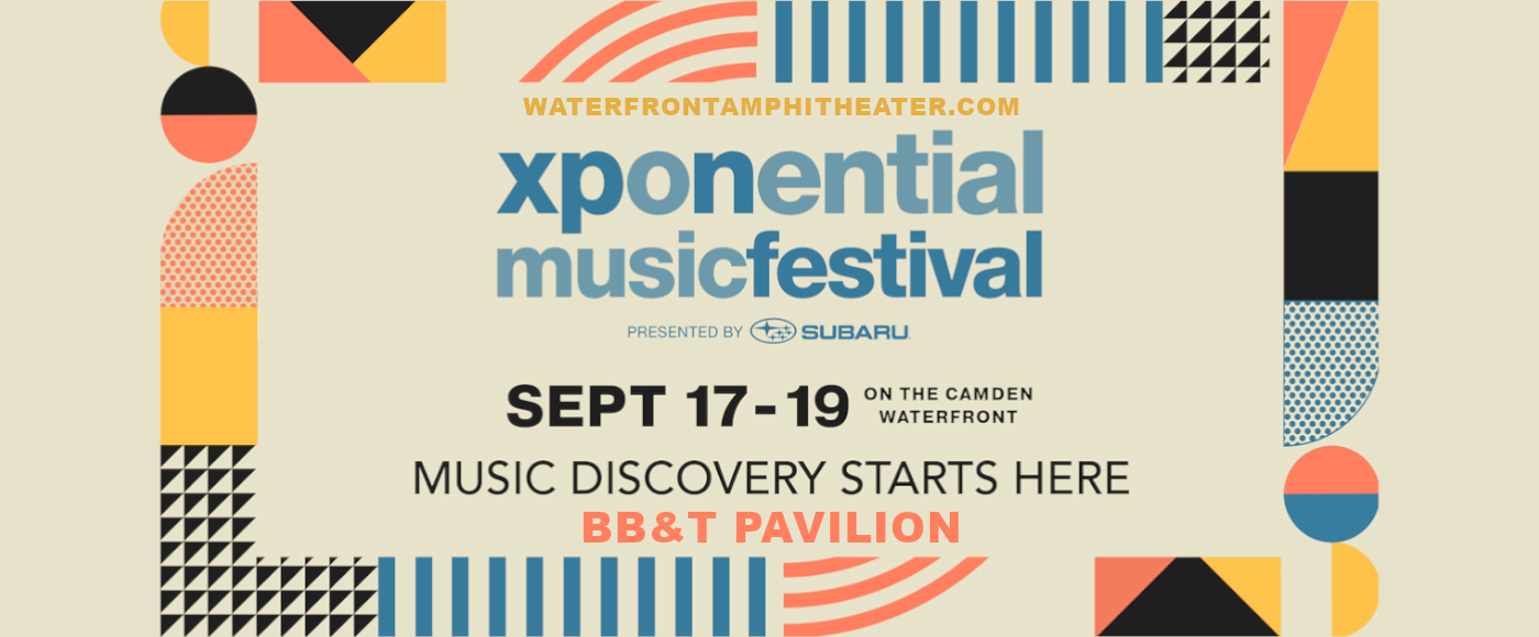 XPoNential Music Festival at BB&T Pavilion