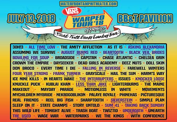 Warp Tour 2020.Warped Tour 2020 Camden Tour 2020 Infiniteradio